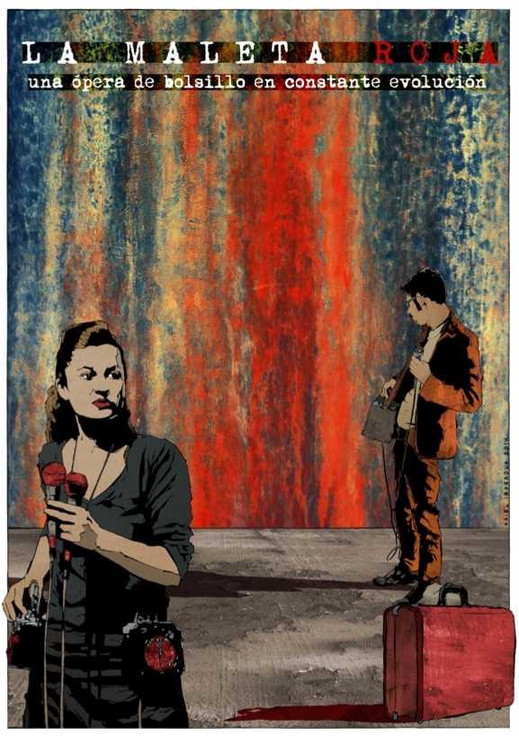 """Ópera experimental """"La Maleta Roja"""". Imagen de Naiel Ibarrola"""